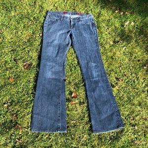 Express Stella boot leg jeans 6R